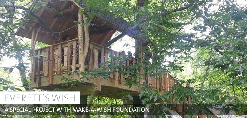 Make A Wish Treehouse Project